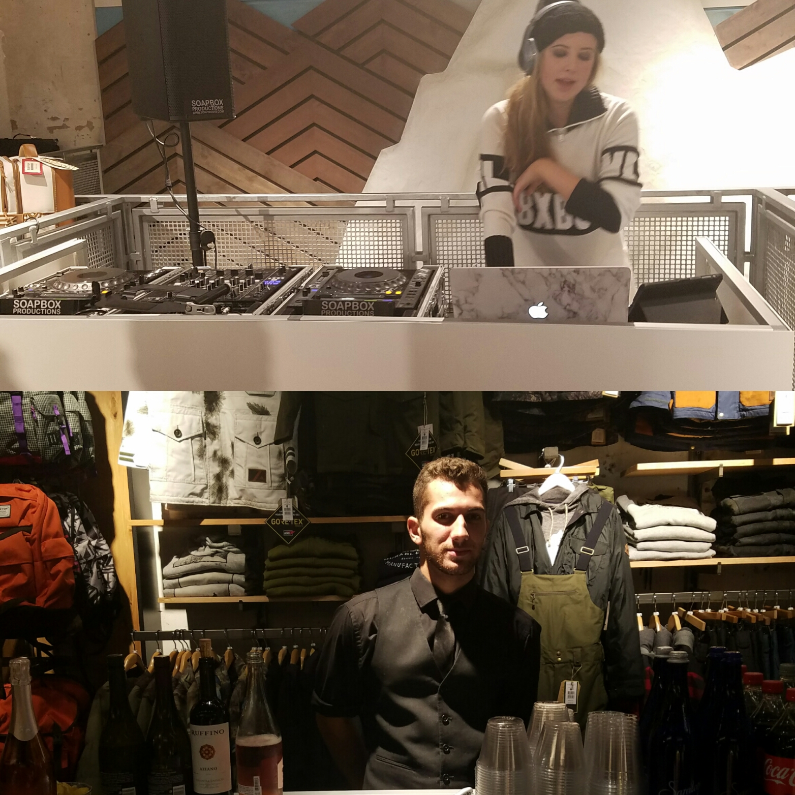 Nylon + Burton shopping event